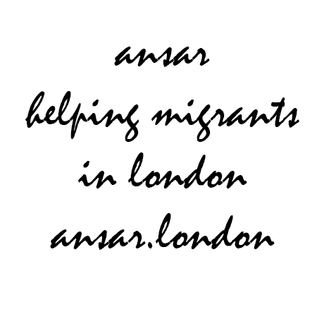 ansar helping migrants in london